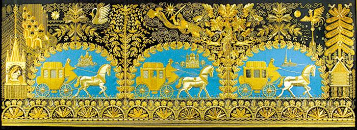 Город который славился своим золотой вышивкой