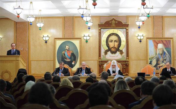 Фото с официального сайта Отдела внешних церковных связей РПЦ