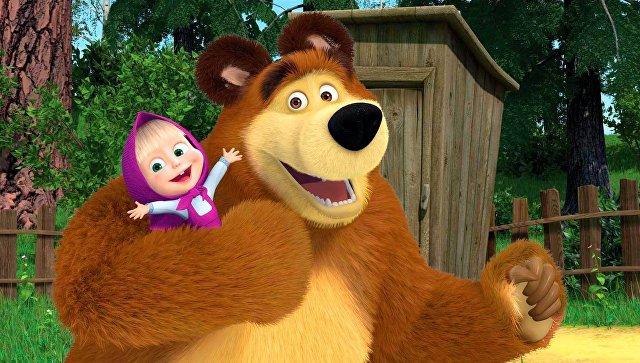 Серия мультфильма «Маша иМедведь» обогнала попросмотрам наYouTube клип Адель