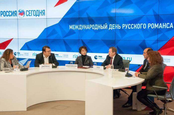 Press conference in MIA Russia Today
