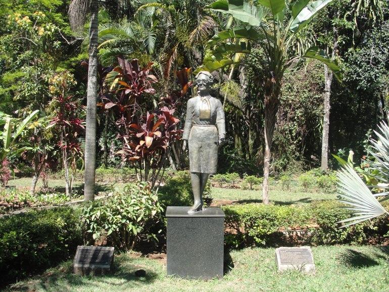 Памятник Е. Антиповой в г. Ибирите (Бразилия). Фото: museus.cultura.gov.br