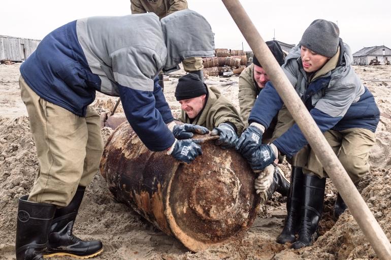 Волонтёры «Зелёной Арктики»