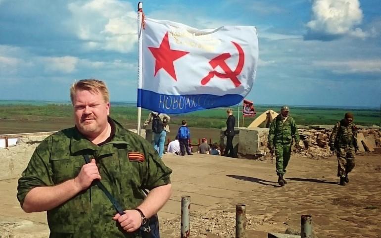 Й. Бекман в ДНР. Фото: eurasia.film