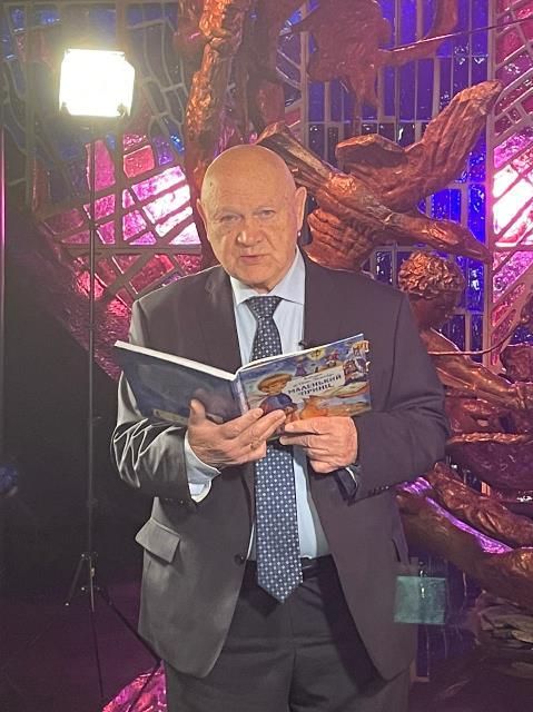 Владимир Джанибеков читает «Маленького принца»