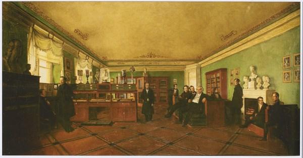 В 1816 году принят в общество любителей российской словесности