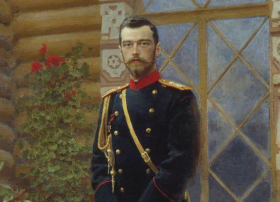 Nicholas II portrait. Ilya Efimovich Repin, 1896//wikimedia.org