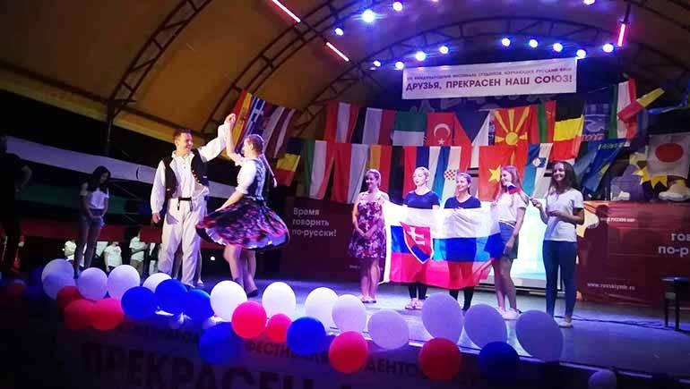 Команда из Прешова принимала участие в VІІІ Международном фестивале «Друзья, прекрасен наш союз!»