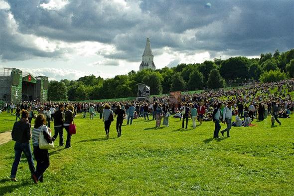 Фестивали лета москва