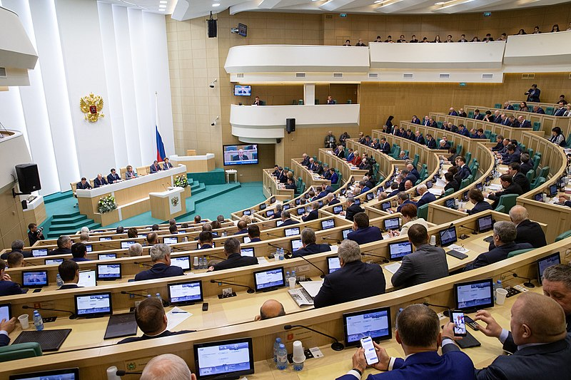 Фото: council.gov.ru / commons.wikimedia.org (CC BY 4.0)###https://commons.wikimedia.org/wiki/File:Meeting_of_the_Federation_Council_(2018-12-11).jpg
