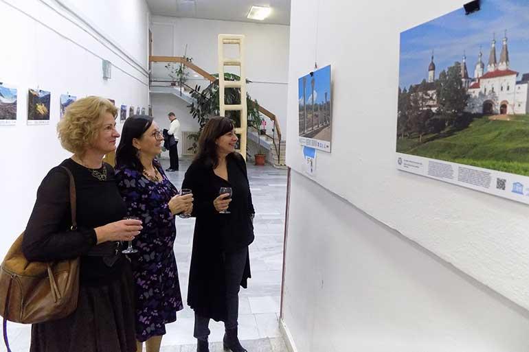 При участии Русского центре в Прешовском университете развёрнута фотовыставка «Объекты всемирного наследия ЮНЕСКО в России»