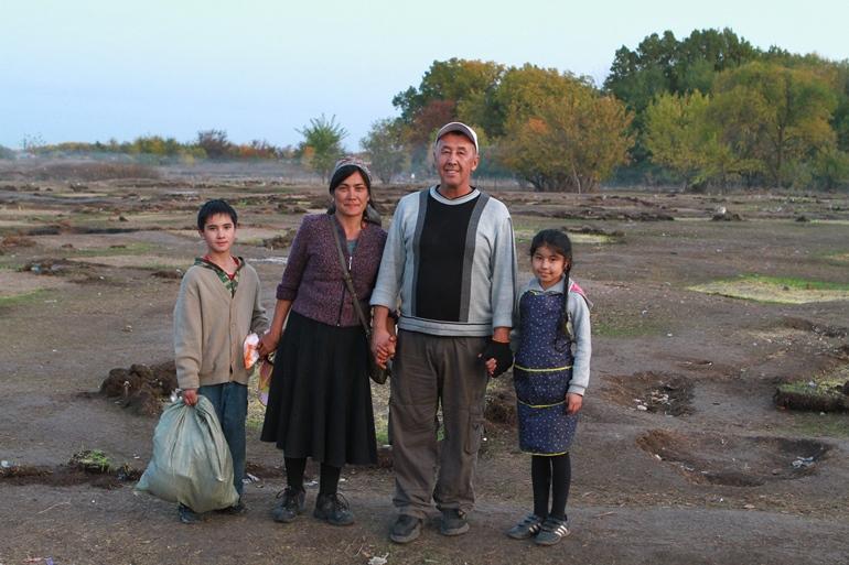 Последними из лагеря ушли волонтёры. Фото Людмилы Мельниченко