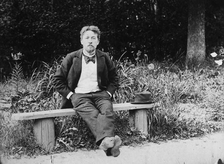 А. П. Чехов. Мелихово, май – июнь 1897 г. Фото: web.archive.org