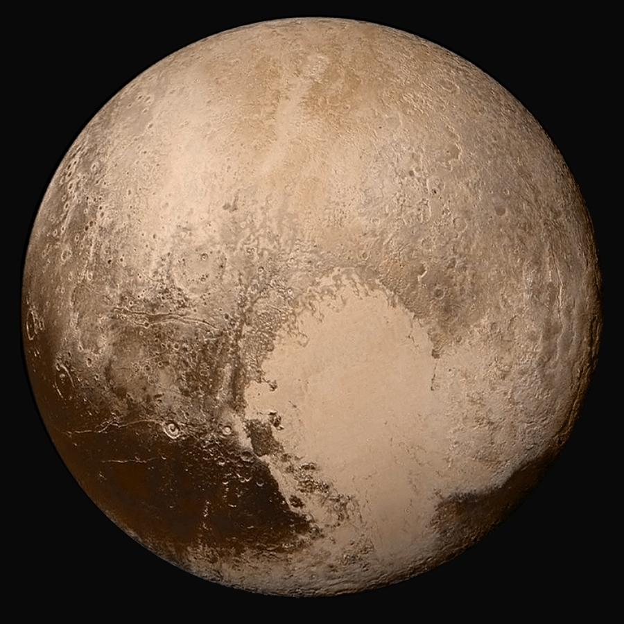 Вчесть первого искусственного спутника Земли назвали равнину наПлутоне