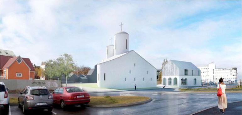 Проект Свято-Николаевского храма и Русского культурного центра в Рейкьявике