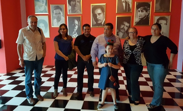 At the movie presentation in State film collection of Nicaragua. Picture: Rossotrudnichestvo