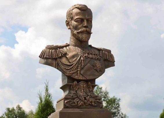ВКалуге открыт монумент императору НиколаюII