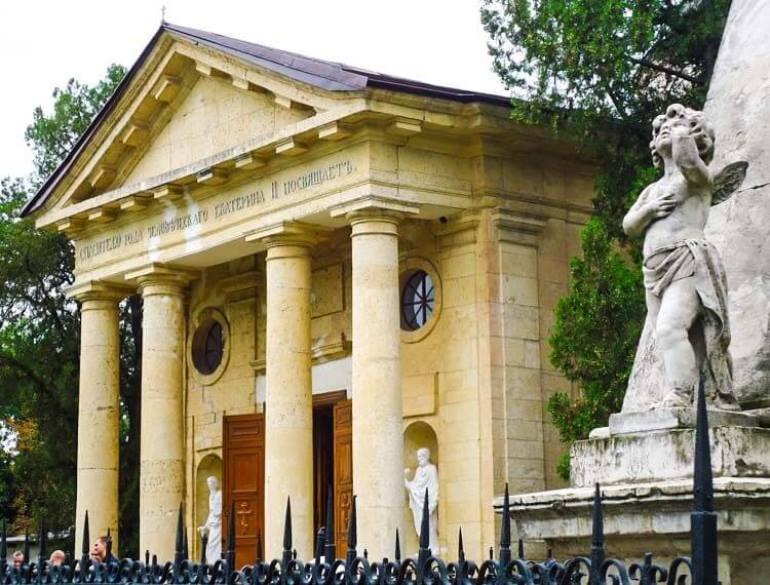 Свято-Екатерининский собор в Херсоне - усыпальница Григория Потёмкина-Таврического