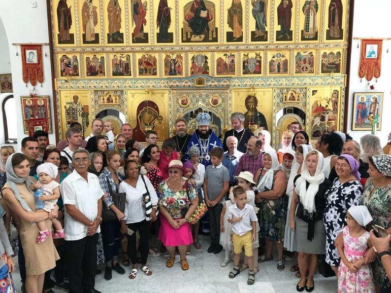 Архиерейское богослужение в Гаване. Фото: Flickr / храм  Рождества Иоанна Предтечи на Пресне