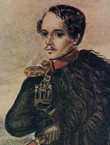 М. Ю. Лермонтов. Автопортрет, 1837 г.