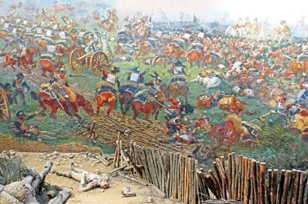 кирасиров / Панорама битвы