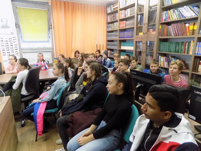 Ученики русских школ часто бывают в Русском центре