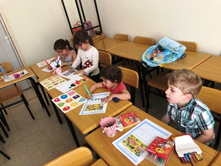 На занятиях русским языком