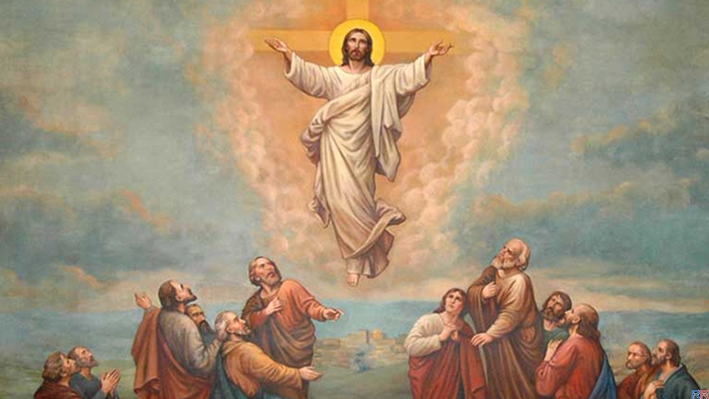 Orthodox believers celebrate the Ascension Day