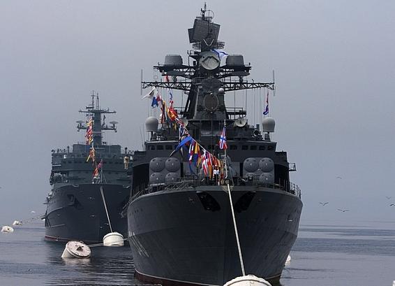ВСевастополе начались празднества всвязи с320-летием русского флота