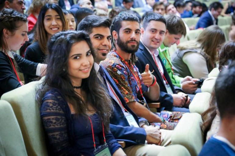 IV Каспийский форум иностранных студентов и выпускников. Фото: ais-rus.com
