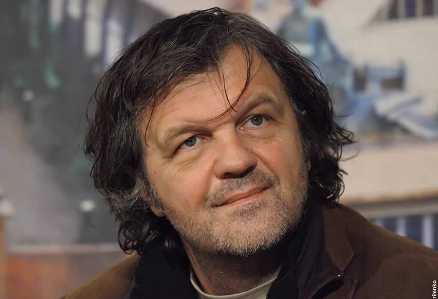 Emir Kusturica introduced his new film and expressed passion